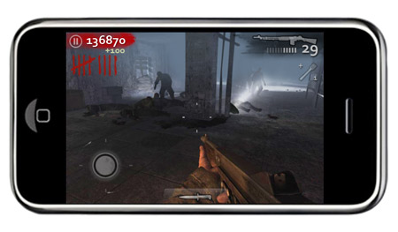 Call of Duty Zombies for the iPhone
